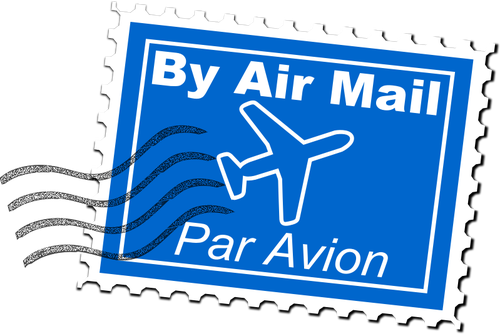 uroesch-Air-Mail-Postage-Stamp